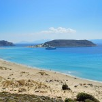A view across the beautiful Simos bay. 2km of pure bliss.