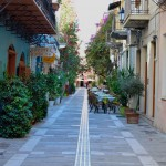 Although dominated by Castle Palamidi, Nafplio's old town is criss crossed with a labyrynth of quaint cobbled streets peppered with cafes, eateries and small family run guest rooms.