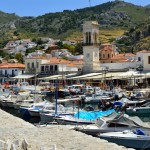 Hydra is a busy working port, but one with charm and character