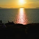 Sunset over Paros