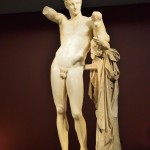 The Hermes of Praxiteles, a masterpiece of the classical period