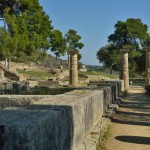 Temple of Hera, where the modern Olympic Torch is lit every 4 years