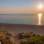 Sunset at Milos beach.