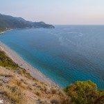 Pefkoulia beach at Agios Nikitas