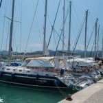 Lefkada town marina