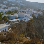 The Chora, perched on the edge of a cliff