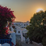 Sunset from the Chora