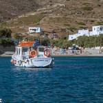 Taxi boat at Agali