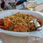 The ubiquitous Lobster Pasta
