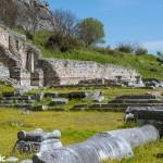 Ruins  in Philippi