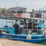 Fisherman in Kavala Port