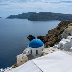 From Oia over the caldera