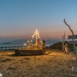 Plaka beach at Petrino